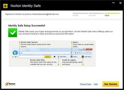 Norton Identity Safe screen1