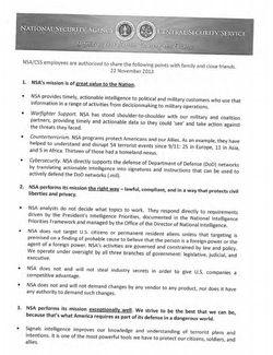 Notice NSA 1