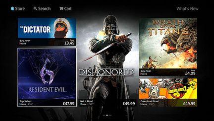 Nouveau PlayStation Store - 1