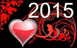 Nouvel An fond écran