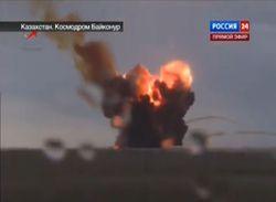 nuage toxique crash fusée russe