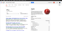 nutrition google search