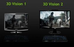 nVIDIA 3D Vision 2 différence