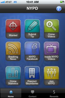 NYPD menu