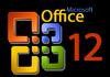 Office 12 : plus d'infos le 16 février