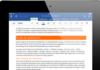 Office pour iPad cartonne en téléchargements
