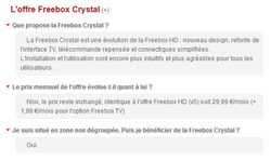 Offre crystal