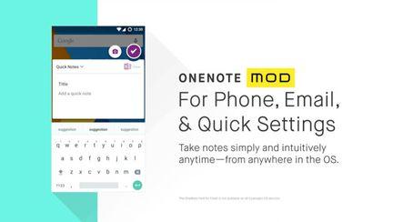 OneNote Mod