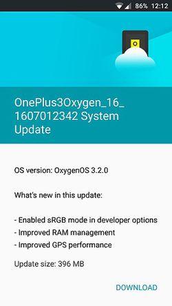 OnePlus 3 Oxygen OS correctif