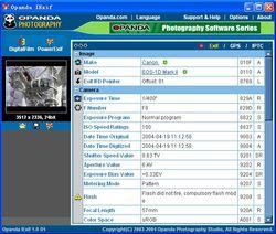 Opanda IExif  screen1
