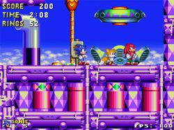 Open Sonic screen 2