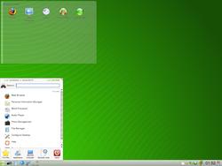 openSUSE_11 1_Beta4 Kde4 desktop
