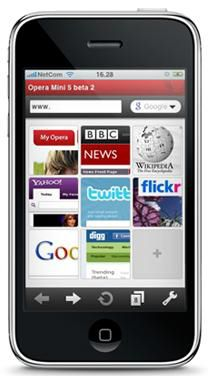 Opera Mini iPhone