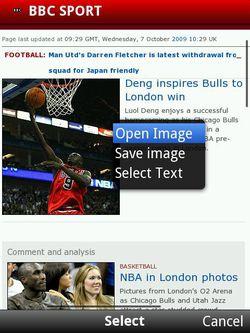 Opera Mobile 10 beta 01