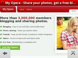 Opera Mobile 10 beta 03