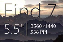 Oppo Find 7 logo 538 ppi