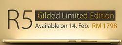 Oppo R5 gold (3)