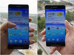 Oppo smartphone sans bordures