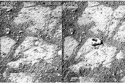 opportunity sol mars
