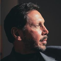 Oracle Larry Ellison logo pro