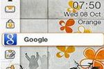 Orange Google logo pro