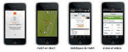 Orange Ligue 1 iPhone