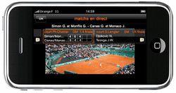 Orange Roland Garros iPhone