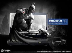Origin EON17-X 3D