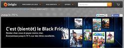 Origin - soldes Black Friday