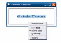 orzeszek timer screen