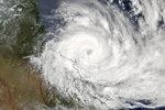 Photo : le cyclone Debbie vu depuis l'ISS