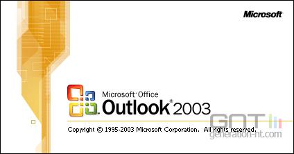 Outlook 2003 logo