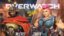 Overwatch nouveaux persos