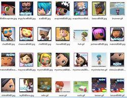 Pack d'avatars MySims screen1