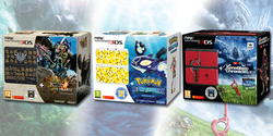 Pack consoels New 3DS