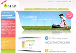 Page accueil installclick