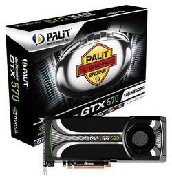 Palit GeForce GTX 570 boîte