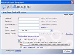 Paltalk Messenger screen2