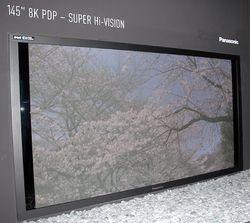 Panasonic 145 pouces 8K