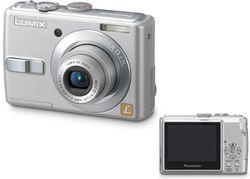 Panasonic Lumix DMC LS75EF argent