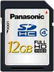 Panasonic SDHC 12 Go
