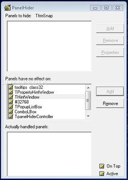PanelHider