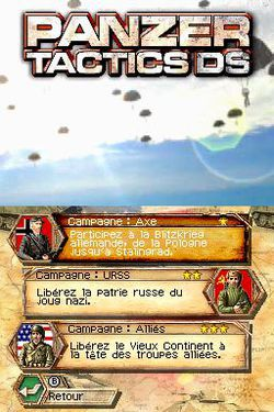 Panzer Tactics DS   1