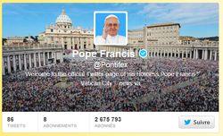 Pape François pontifex twitter
