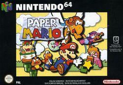 Paper Mario   Pochette