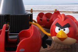 Parc attractions Angry Birds - manege