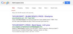 paroles Google