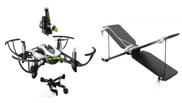 parrot pr sente ses nouveaux drones swing et mambo. Black Bedroom Furniture Sets. Home Design Ideas