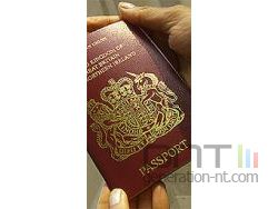 Passeport britannique biometrique small