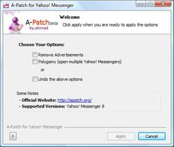 A-Patch for Yahoo Messenger